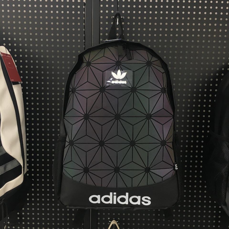ของแท้ Adidas BP ROLL TOP 3D men and women backpack DV0202 DV0201 เดินทาง นักเรียน แบรนด์ กันน้ํา กีฬา กระเป๋าเป้