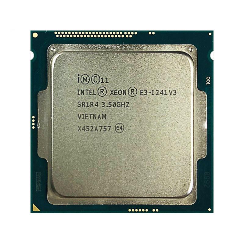 อุปกรณ์เสริมสําหรับ Xeon E3-1241 V3 E3 1241V3 E3 1241 V3 3.5 Ghz เกลียวซีพียู 80W Lga 1150