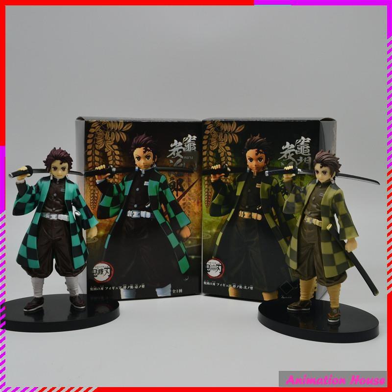 อะนิเมะ Demon Slayer Blade Figure Model Nidouzi My Wife Zenyi Tomioka Yoshiyuki Tanjiro Blind Box Doll Gift