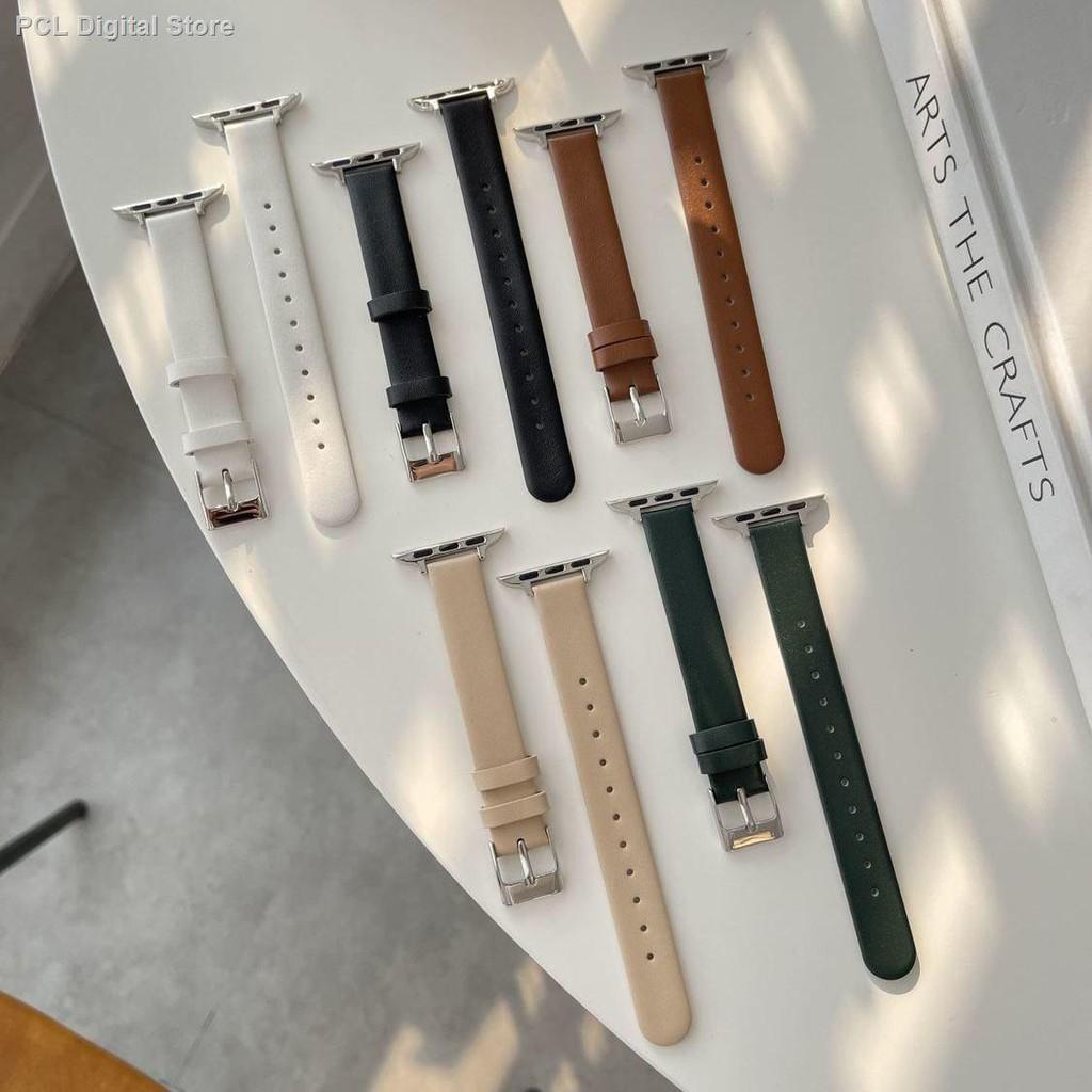 【อุปกรณ์เสริมของ applewatch】♣ฤดูร้อนรุ่นใหม่คือ เหมาะสำหรับสาย Applewatch นุ่มเอวเล็กและสาย iwatch บางรุ่น SE654321