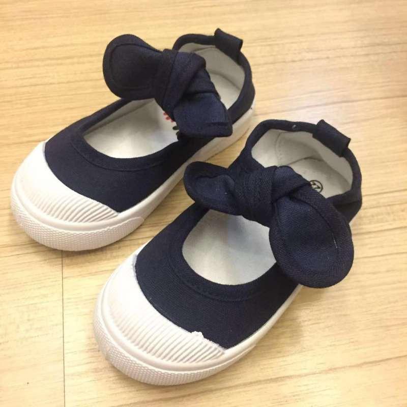 baby-Fรองเท้าเด็ก  รองเท้าคัชชู(เด็กผู้หญิง)แบบใหม่แฟชั่นโบว์ น่ารัก เป็นเนื้อผ้าหนา แต่นุ่มสบายเดินถนัด