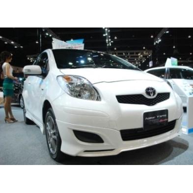 สเกิร์ตหน้าแต่งรถยนต์ Toyota Yaris 2009-2011 TRD