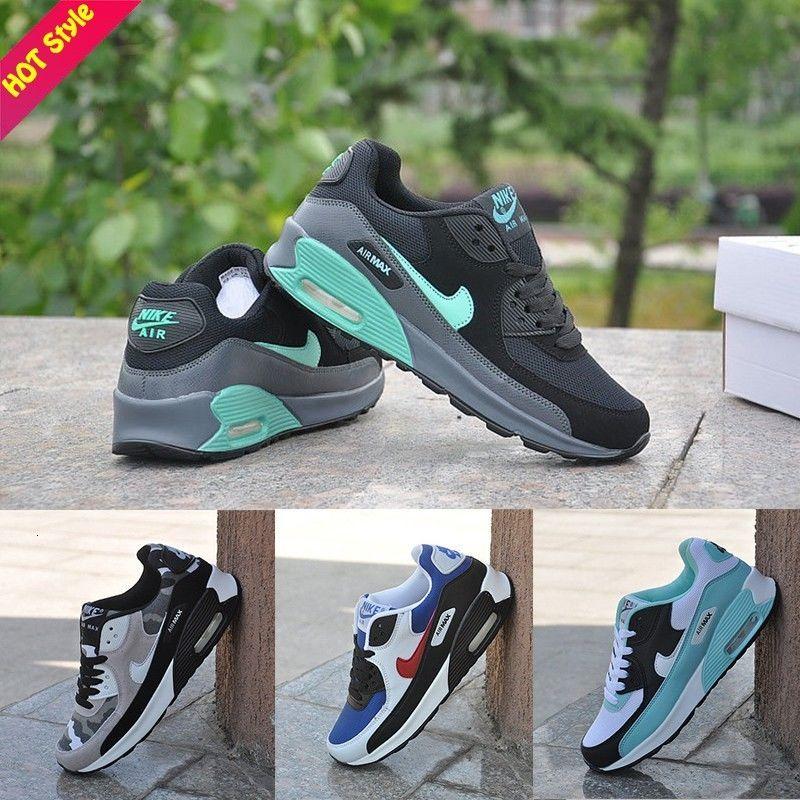 Original Ready Stock fashion NIKE AIR MAX 90 Men Shoes Sport Shoes  Running Shoes Kasut Sukan Fashion Trend Sneakers Wom