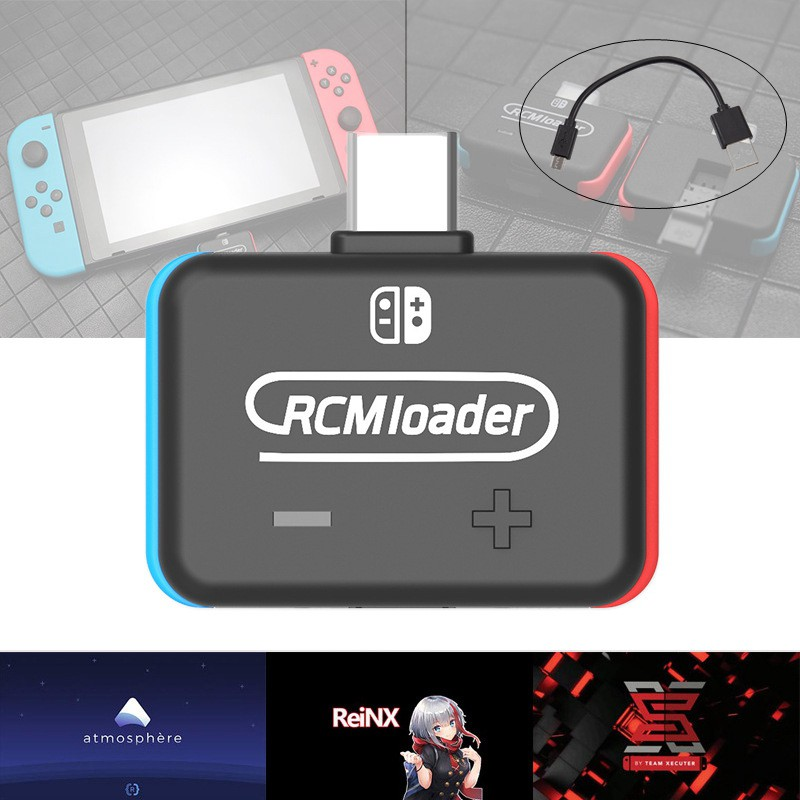 Rcm Loader For Switch Dongle Sx Os Ns Shorter With Injector Jig Kits
