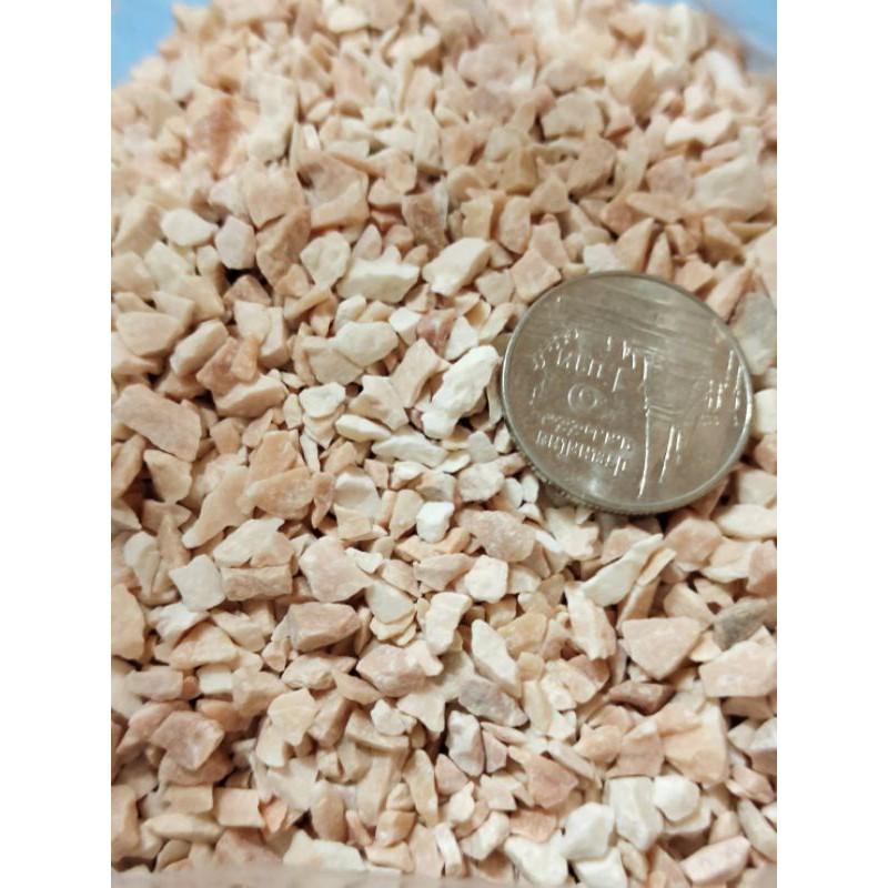 หินเกล็ดโรยหน้ากระถาง หินเกล็ดโรยกระบองเพชร แคคตัส ไม้อวบน้ำ น้ำหนัก 500กรัม