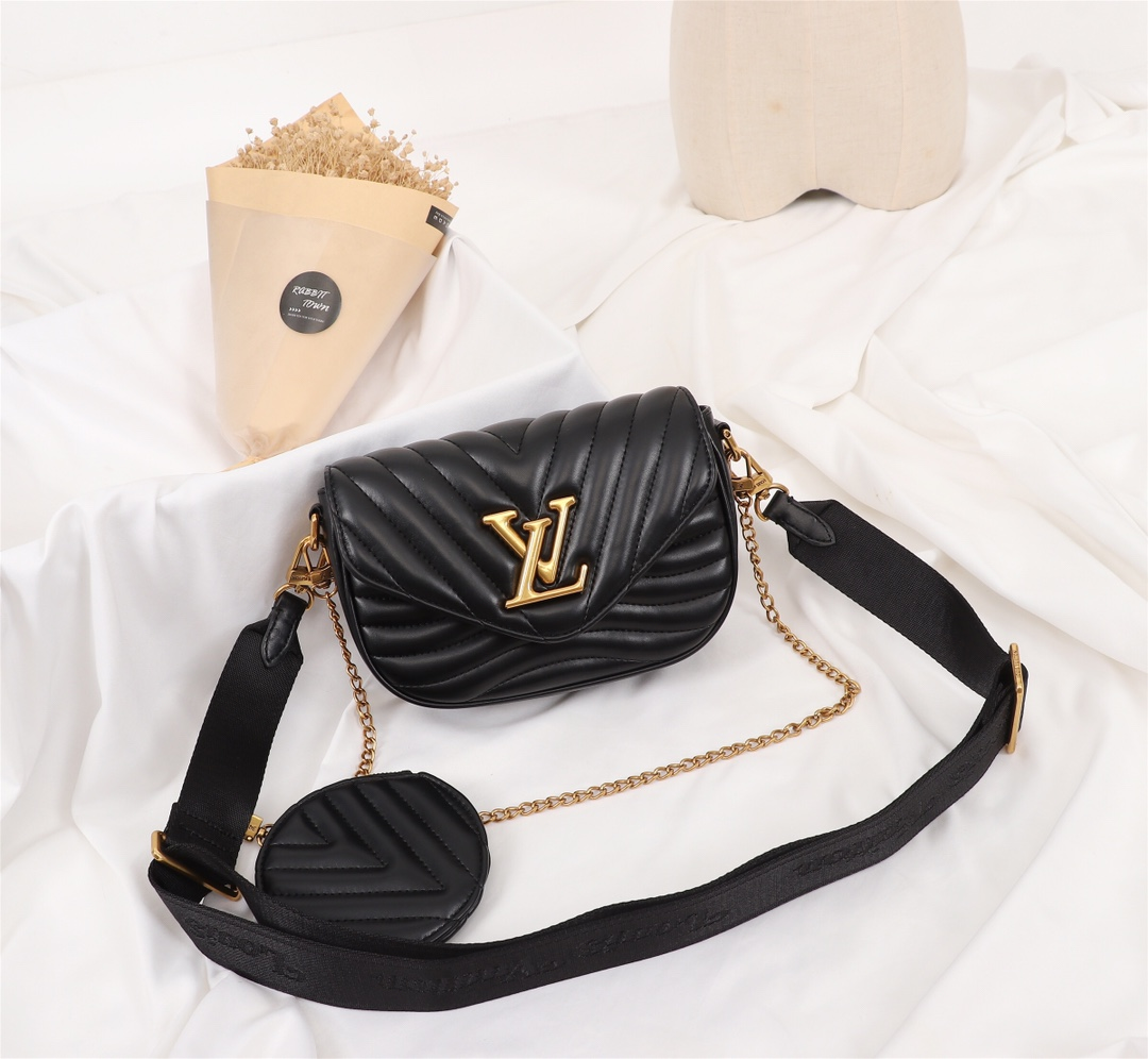 LV Multi Pochette New Wave shoulder bag messenger bag chain women bag