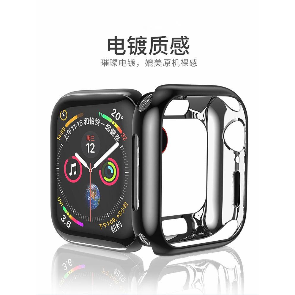 เคสซิลิโคนนุ่มป้องกันรอยสําหรับ Applewatch Iwatch4 5 / 3 / Se / 6