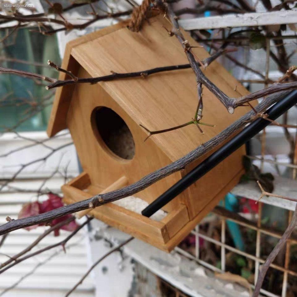 กระเป๋าเป้สัตว์เลี้ยง▣✉บ้านนกนอกบ้านนก รังผ่านรังกล่องเพาะพันธุ์นกแก้วรังนกรังนกนกแก้วรังนกการผสมพันธุ์ที่อบอุ่นบ้านนกไ