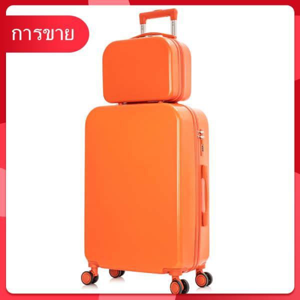 กระเป๋าเดินทางขนาดเล็กรถเข็นนักเรียน 20 นิ้ว ins สุทธิสีแดง 18 กระเป๋าเดินทางสำหรับเด็กผู้หญิงขนาดเล็กและอินเทรนด์