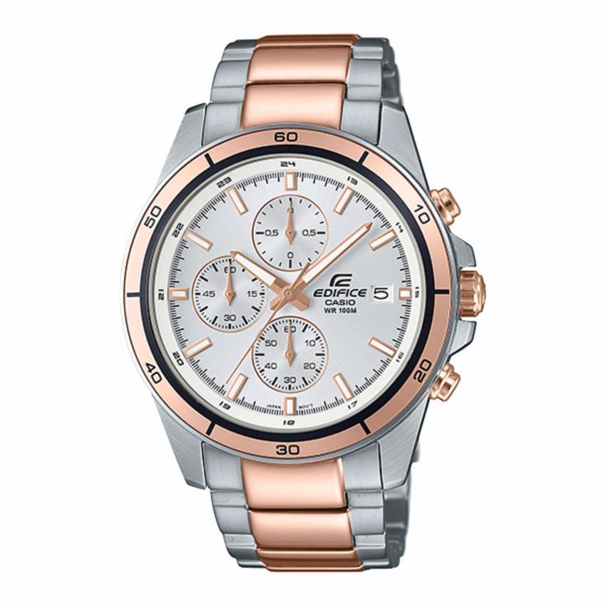 Casio Edifice Chronographนาฬิกาข้อมือชาย สายสแตนเลสEFR-526SG-7A5(Silver)