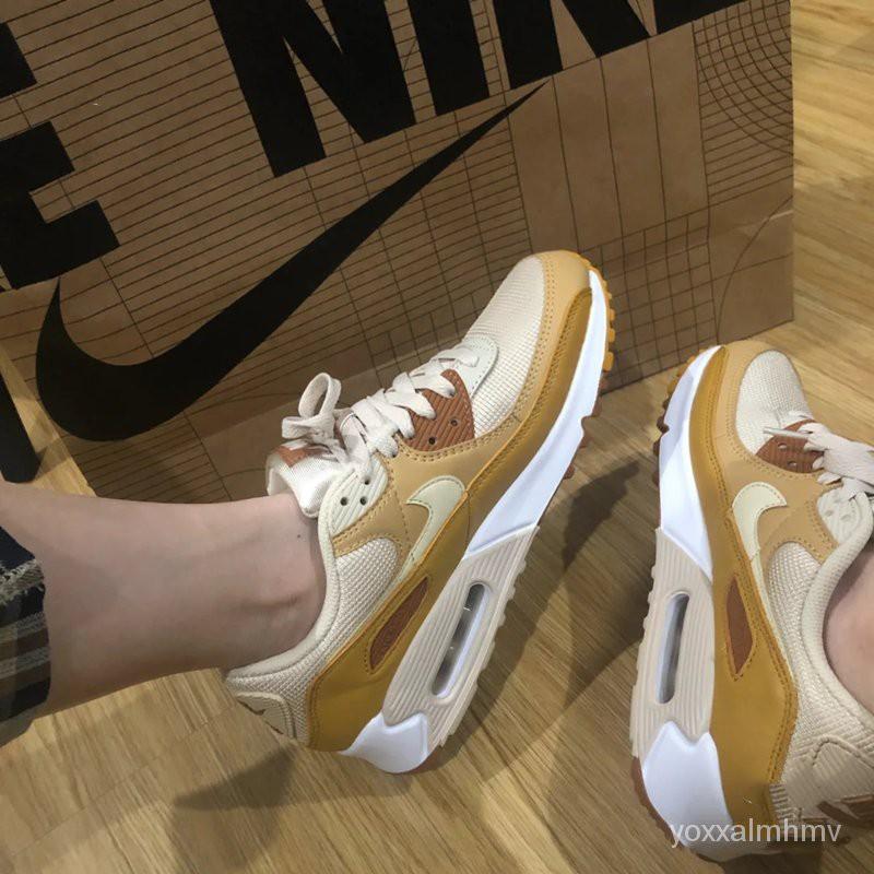 王一博Nike Air Max 90รองเท้าวิ่งสำหรับผู้ชายและผู้หญิงCJ0611-CD0881-CN1080