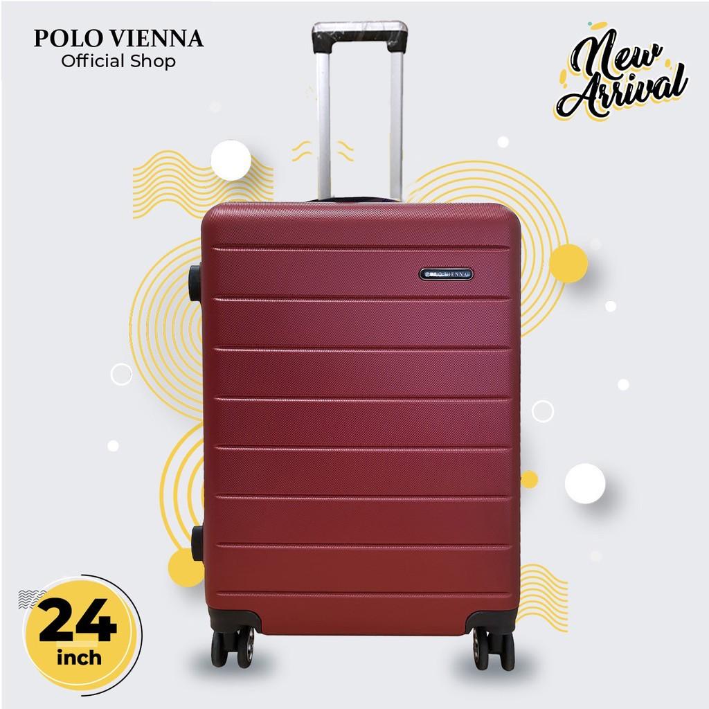 กระเป๋าเดินทางโปโลเถาวัลย์ 001 24 นิ้ว Abs ไฟเบอร์กระเป๋าเดินทาง 24 นิ้ว