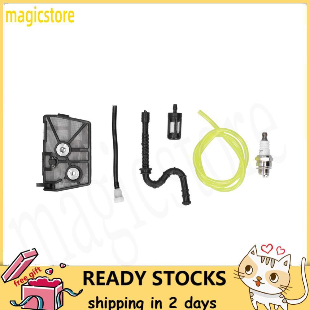 Magicstore อะไหล่หัวเทียนกรองอากาศสําหรับ Stihl 028 Aav