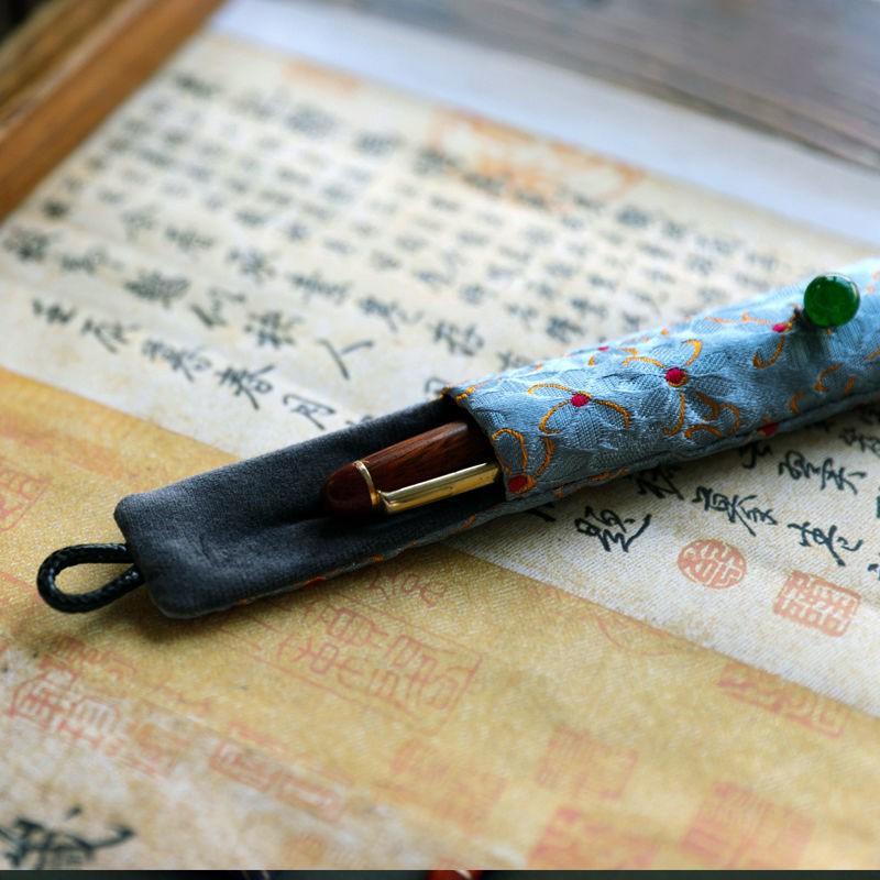 ปากกาเคสปากกาเดี่ยว applepencil ปากกาเคสปากกาสไตล์ย้อนยุค วรรณกรรมและศิลปะกล่องดินสอ Apple