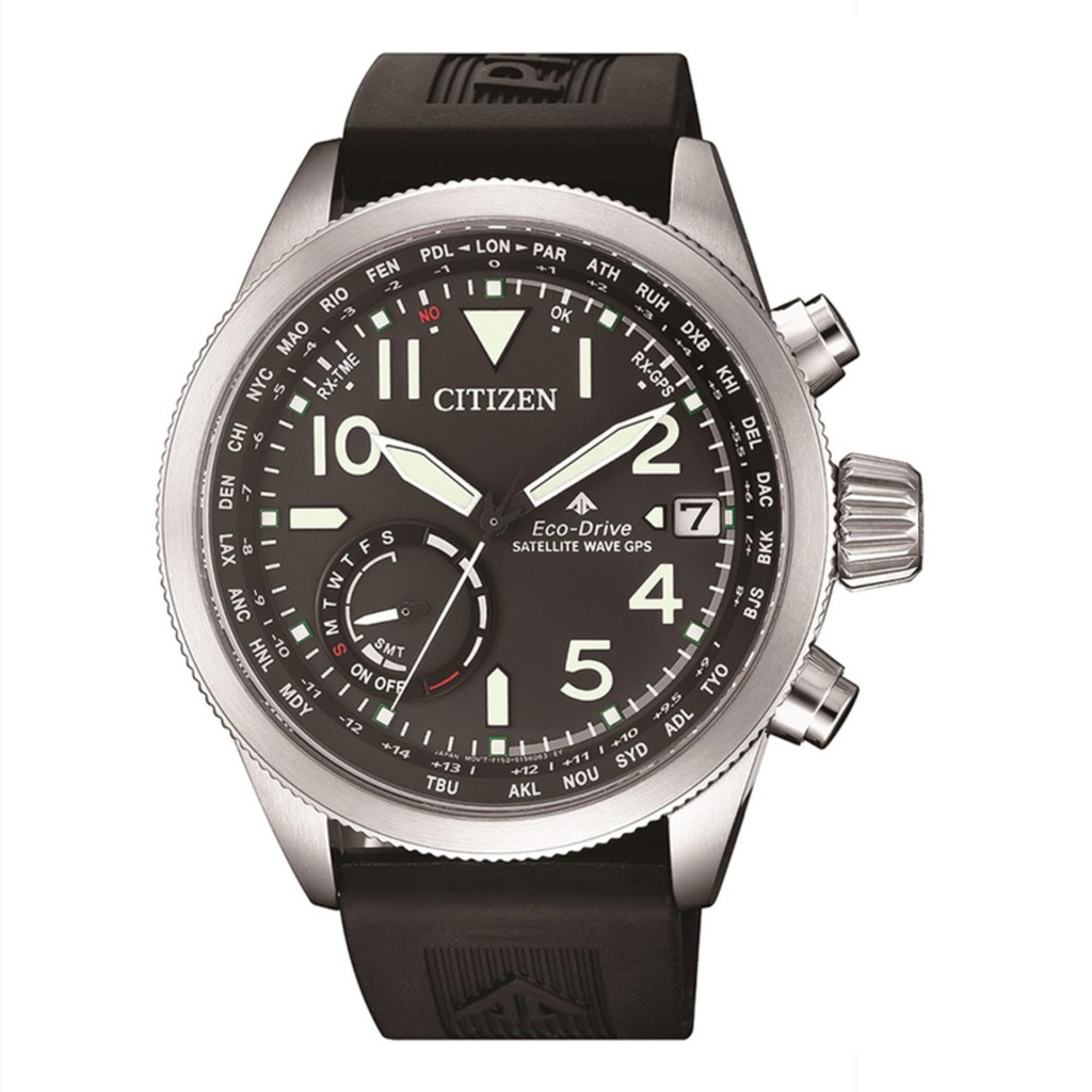 CITIZEN Eco-Drive Promaster Satellite Wave ผู้ชาย - CC3060-10E (PR15)
