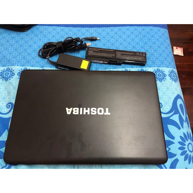 Notebook Toshiba Core-I5 2520M RAM 8 GB ราคา 6,000 บาท