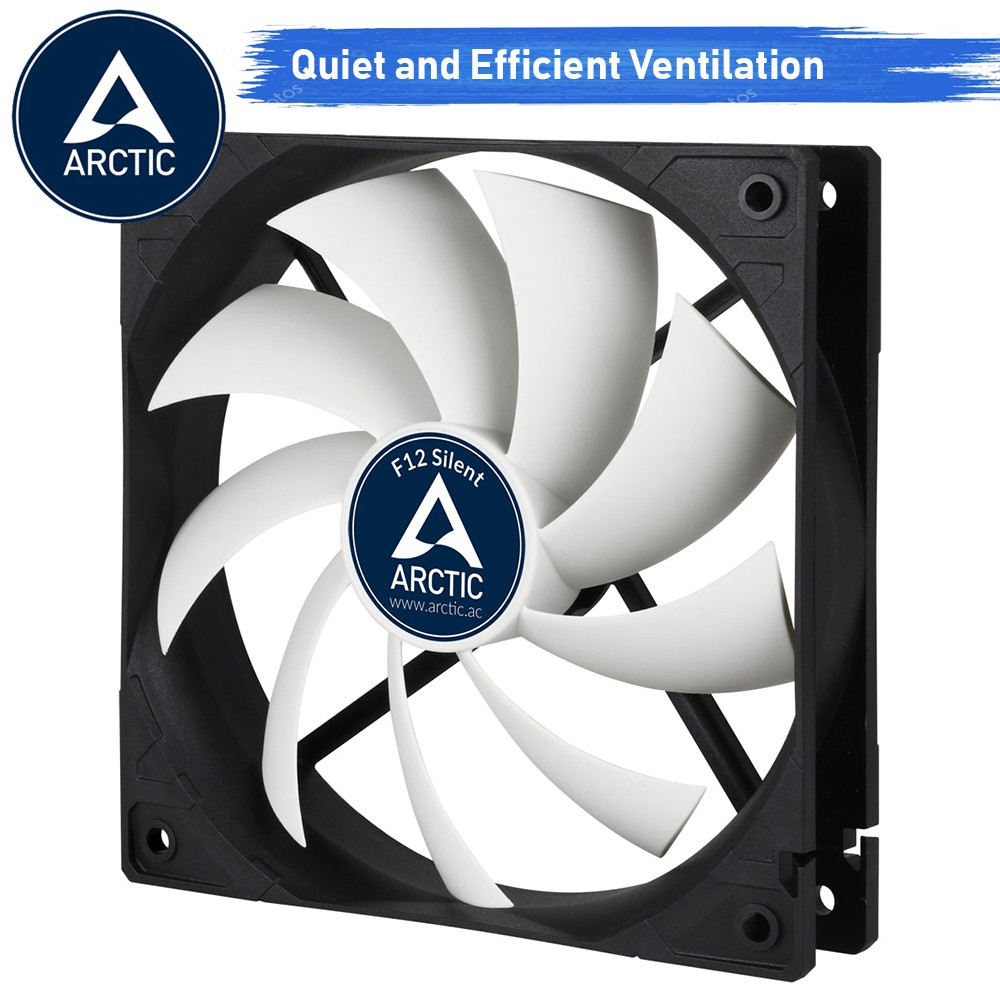 พัดลม Arctic Cooling Fan Case Model F12 Silent (size 120 mm )