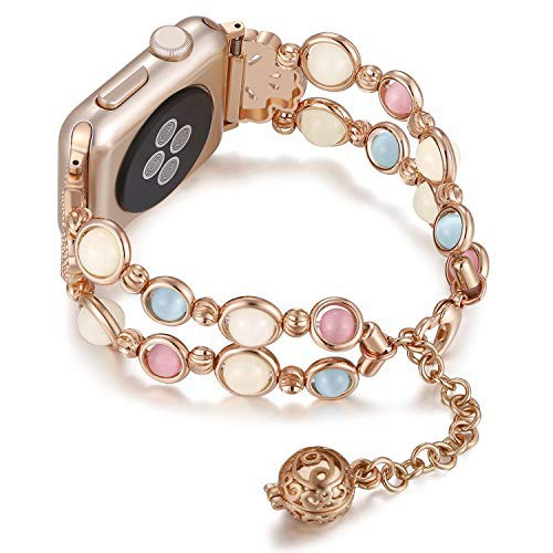 สาย applewatch สายนาฬิกา applewatch สายนาฬิกาข้อมือ สาย applewatch Apple iWatch ซีรีส์ 5 4 3 2 1 42 มม. 44 มม. 40 มม.38