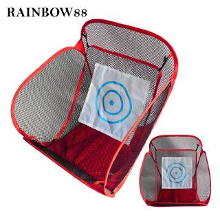 rainbow88 Portable Folding For Indoor Outdoor Practice Equipment Sports Training  Net Folding Golf Net Beautiful