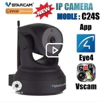 ส่งฟรี Vstarcam กล้องวงจรปิด IP Camera 2 0 Mp Full HD1080 รุ่น C24S