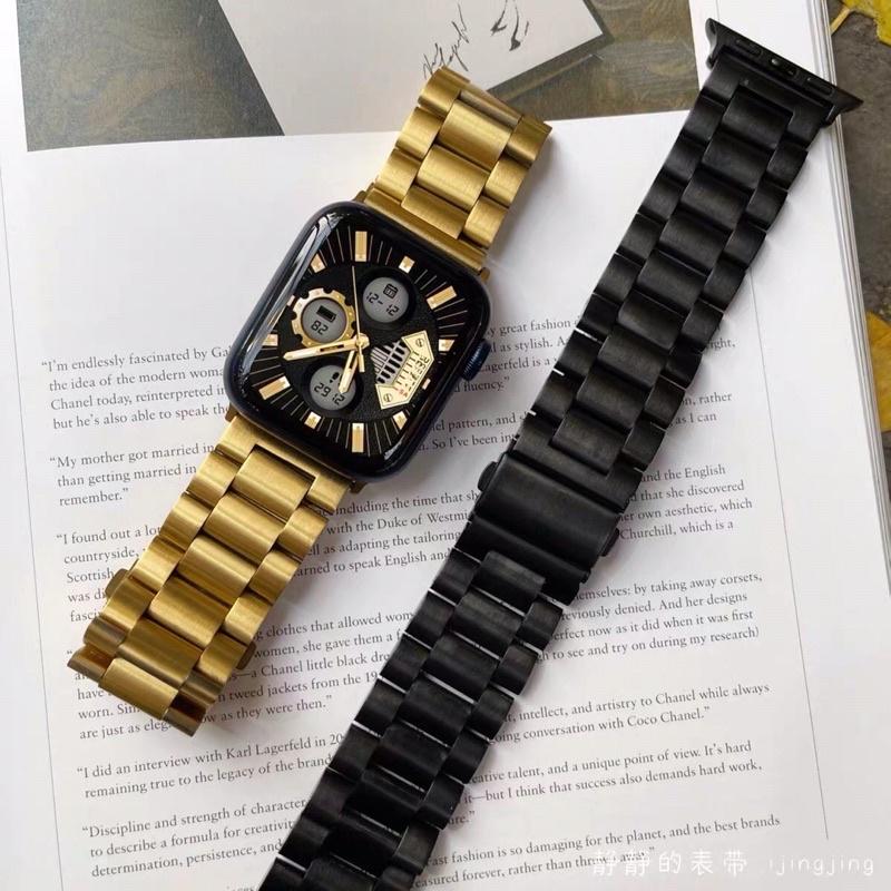 ஐ∋🇹🇭🇹🇭พร้อมส่ง 🇹🇭🇹🇭 Stainless Steel สายนาฬิกาข้อมือ ชนิดสเตนเลส เกรดพรีเมี่ยม สำหรับ Apple Watch iWatch Se 6 5 4
