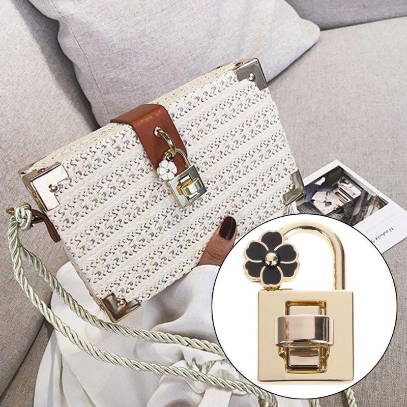 5pcs Metal Clasp Turn Lock Twist Locks For Handbag Bag Purse Hardware Craft
