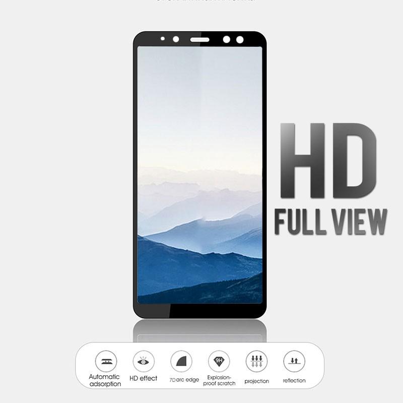 Samsung Galaxy A3 A5 A7 J3 J5 J7 2017 Pro เต็มจอ ปกป้อง ฟิล์ม กระจกนิรภัย