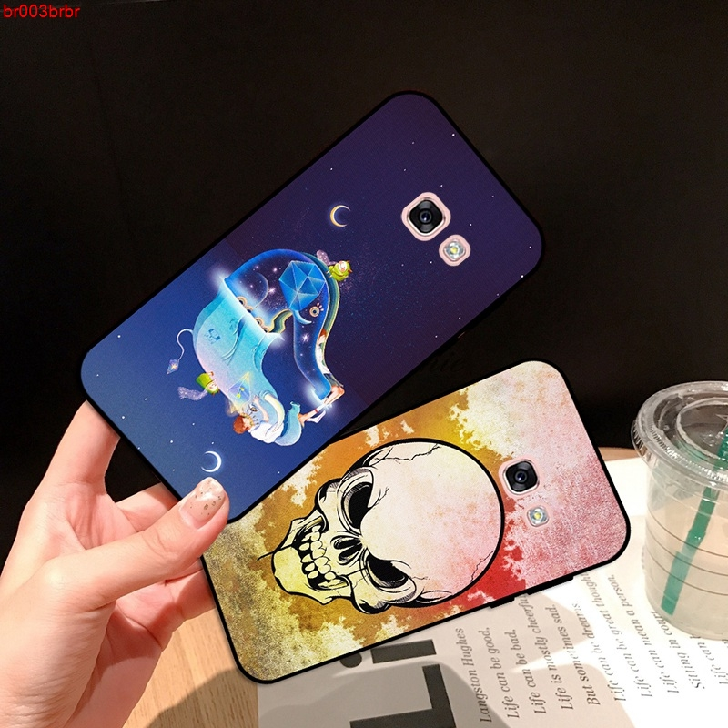 Samsung A3 A5 A6 A7 A8 A9 Pro Star Plus 2015 2016 2017 2018 GSZT Pattern-4 Silicon Case Cover