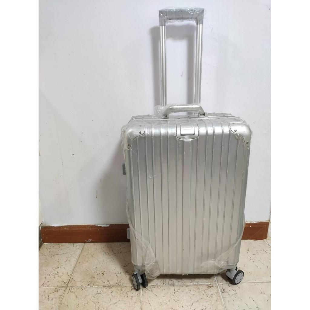 🔥โล๊ะสต๊อก🔥 กระเป๋าเดินทางขนาด 24 นิ้ว โครงอะลูมิเนียม อลูมิเนียม วัสดุ ABS+PC