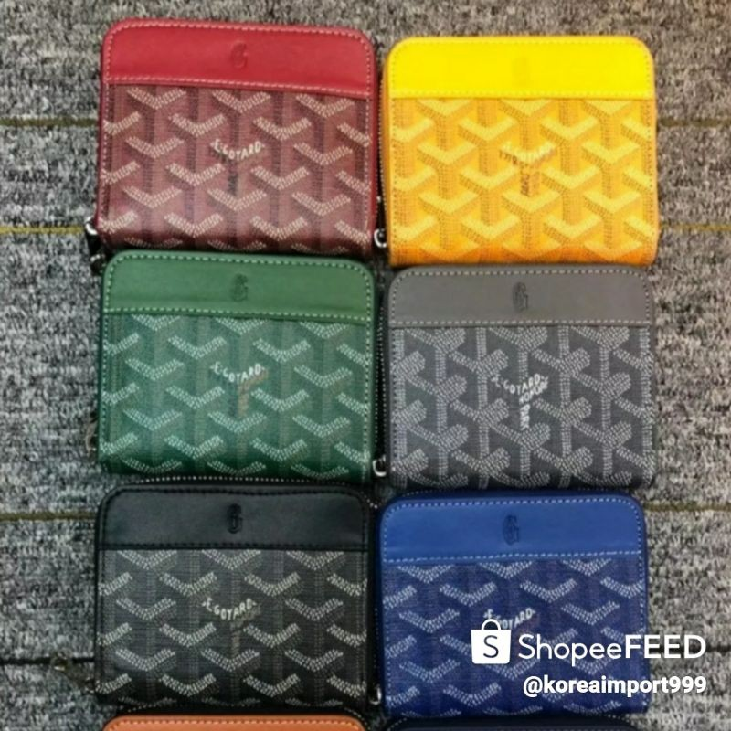 Goyard Zippy Mini Wallet