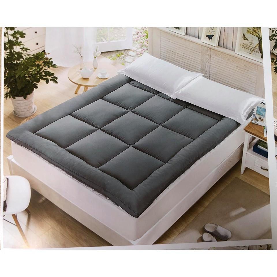 topper 5 ฟุต ที่นอน topper ท็อปเปอร์ สีพื้น ขนาด 3.5 ฟุต ท็อปเปอร์หนานุ่ม ที่รองนอนนุ่ม  ( มีเก็บเงินปลายทาง )