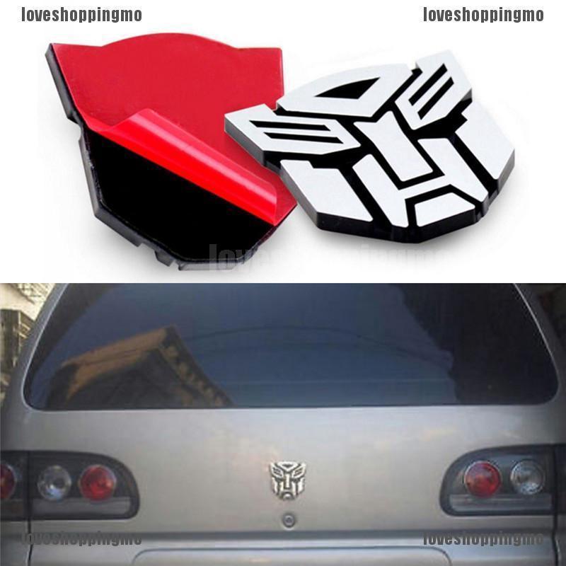 A-Z Alphabet Letters Car Sticker Self Adhesive Auto Badge Emblem 3D Chrome #