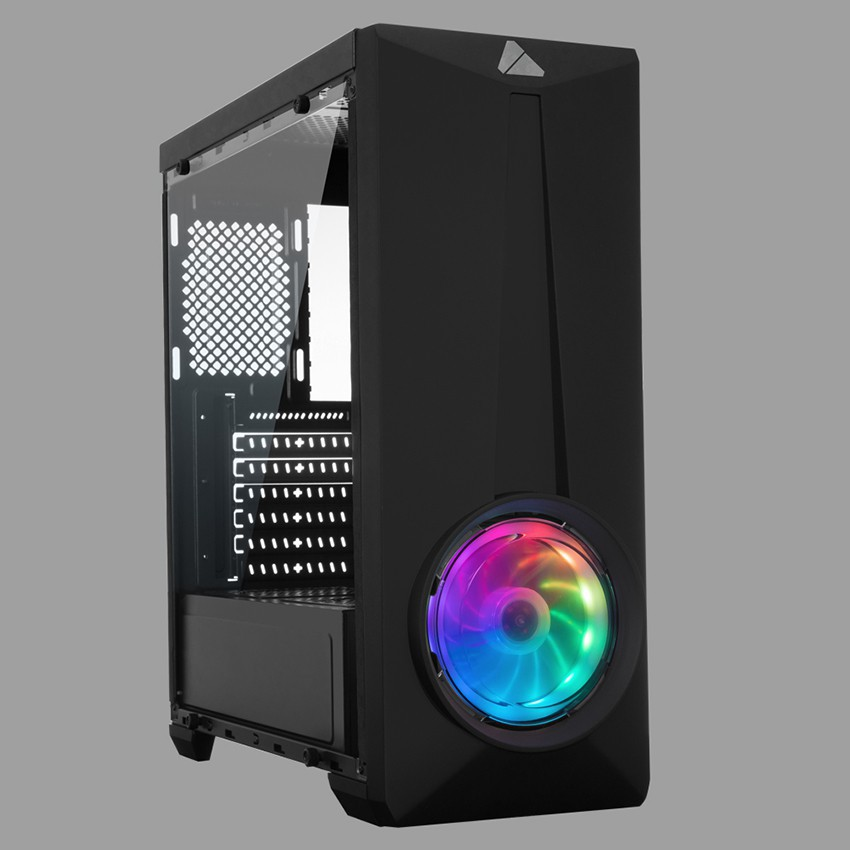AZZA Mid Tower Gaming Computer Case ARC 241 – Black