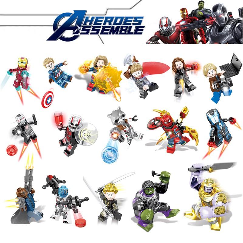 ของเล่นเลโก้ LEGO Compatible Marvel Series 3 ชิ้น