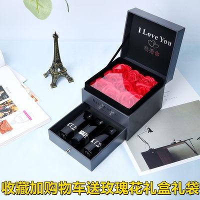 ⅓〃Rose Gift Box ของแท้ Dior Lipstick Velvet 999 Matte Zhenghong 740 Rotten Tomato Lipstick 888 Moisturizing 520