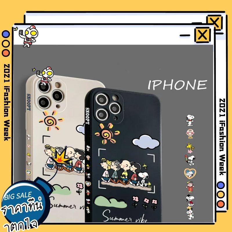 Apple IPhone 12 Pro Max Se2 6 6s 7 8 Plus X XR XS MAX Soft Case Apple IPhone Case เคส IPhone 11สนูปปี้ เคสโทรศัพท์มือถือ