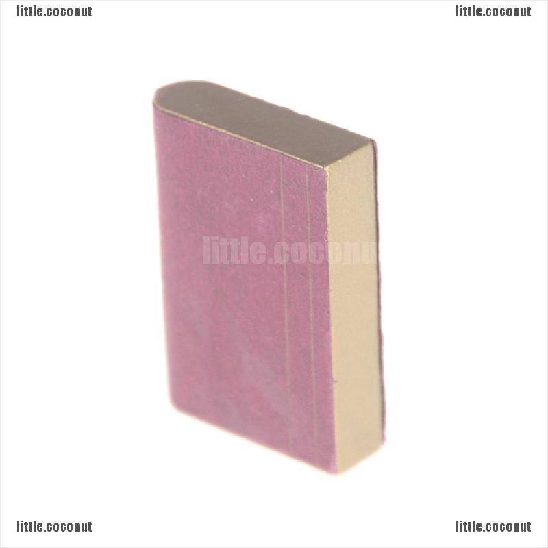 [Coco] ชุดบ้านตุ๊กตาหนังสือไม้จิ๋ว 1:12 Comic Books สีแดง
