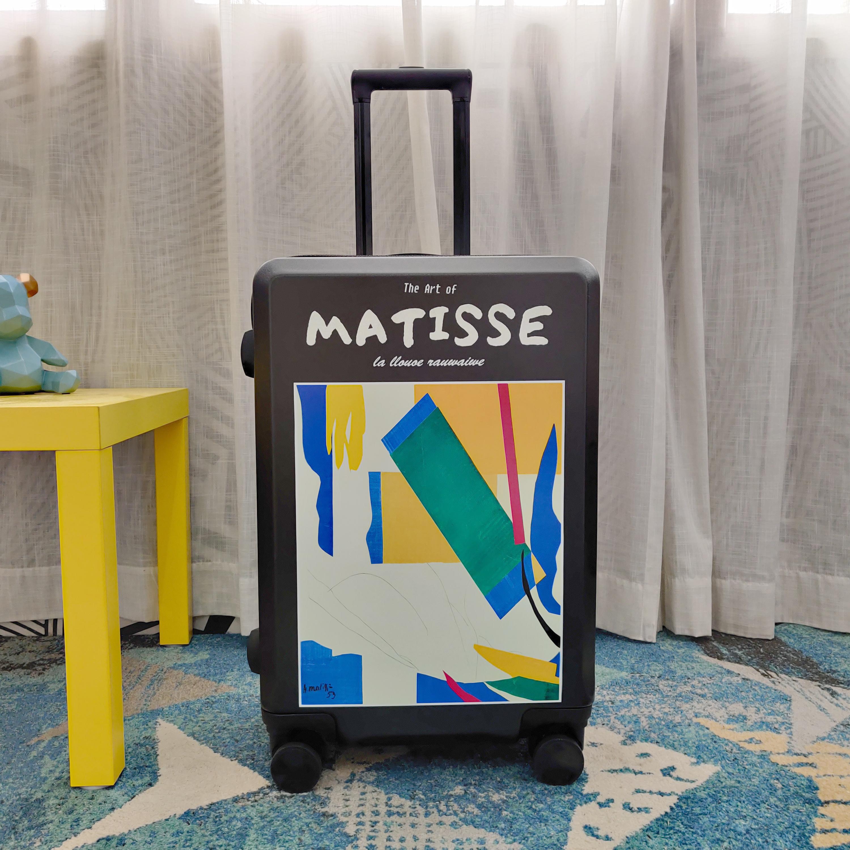 Matisseกระเป๋าเดินทาง,กระเป๋าเดินทาง,กระเป๋าเดินทางINSน้ำแต่งงานกล่อง20/24-กระเป๋าเดินทางขนาดนิ้ว