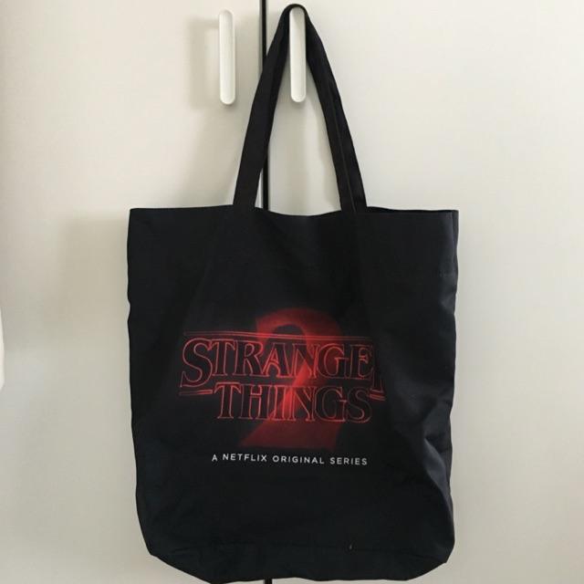 กระเป๋าผ้าสกรีนลาย Stranger Things 2