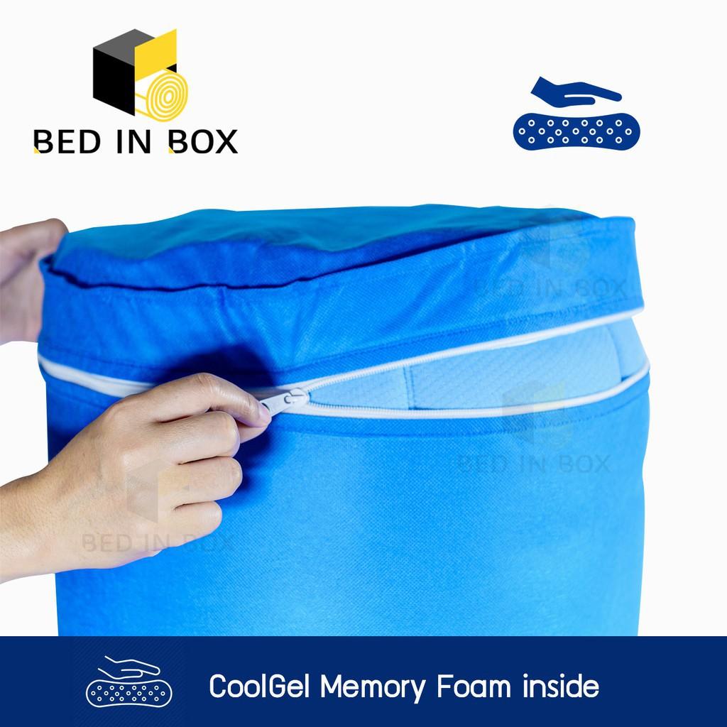 ที่นอน topper topper 5 ฟุต ที่นอน ท๊อปเปอร์ เมมโมรี่โฟม (Memory Foam Topper) ขนาด 3.5 ฟุต