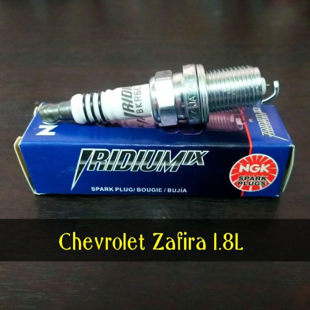 หัวเทียน Chevrolet Zafira 1.8L (1ชุด4ชิ้น) แท้ NGK IRIDIUM BKR6EIX-11 อิริเดียม สำหรับ เชฟโรเลต ซาฟิร่า เครื่อง 1.8L