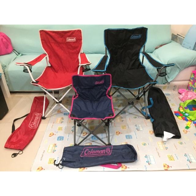 เก้าอี้พับได้ coleman สภาพใหม่ ผ้าหนาๆไม่มีขาด ข้อต่อแน่นหนา รับน้ำหนักได้ 80 kg พร้อมถุงผ้า
