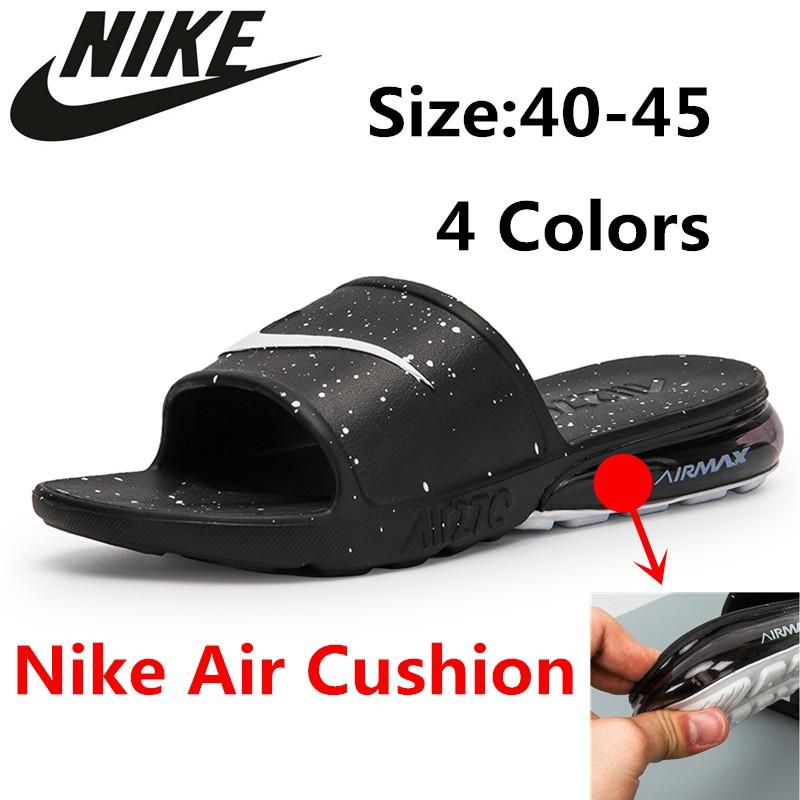 Nike AIR MAX 90 SLIDE รองเท้าลำลอง, รองเท้าแตะ, รองเท้าผู้ชายและผู้หญิง, รองเท้าเบาะลม, บุคลิกภาพที่สะดวกสบาย, การดูดซับแรงกระแทกไม่ลื่น, รองเท้า
