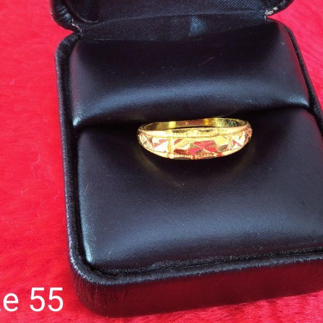 ลดราคา!!แหวนทองคำแท้ 24 k.96.5%