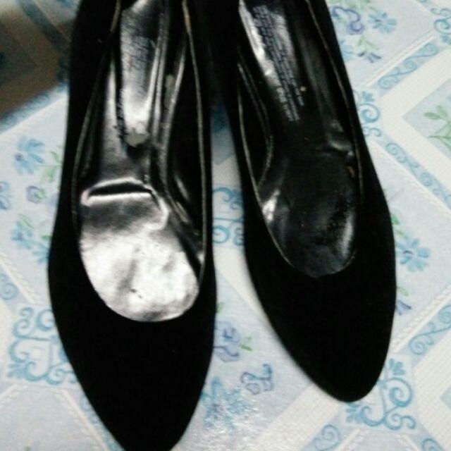 รองเท้าคัชชูสีดำสภาพค่อนข้างดีไซ36