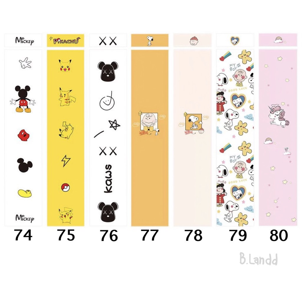 ▦[ถูกที่สุด🔥] ฟิล์มปากกาสำหรับ applepencil sticker รุ่นที่1/2 น่ารักๆ พร้อมโปรโมชั่น3แถม1[4]