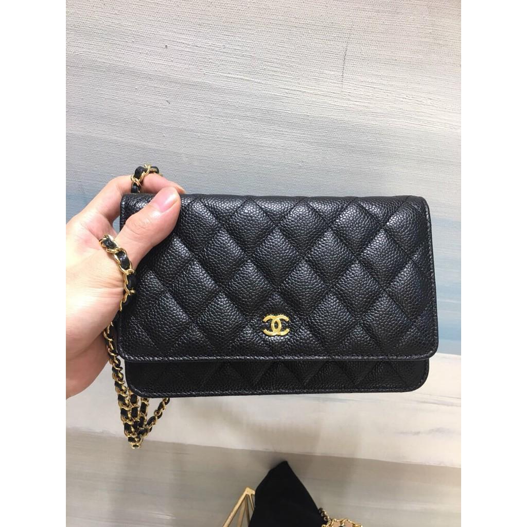 Chanel Woc ghwของแท้ 100%กระเป๋าแบรนด์เนม #กระเป๋าหิ้ว