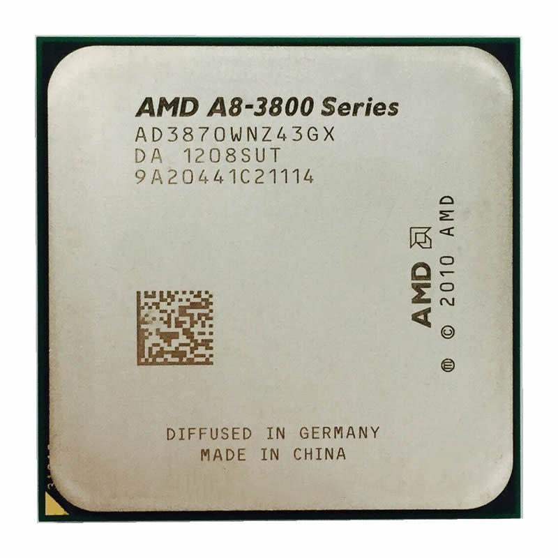 Amd A 8 - Series A 8-3870 K A8 3870 K 3 . 0 Ghz Quad - Core Cpu Processor Ad 3870 Wnz43 Gx ซ็อกเก็ต Fm 1 สําหรับคอมพิวเตอร์