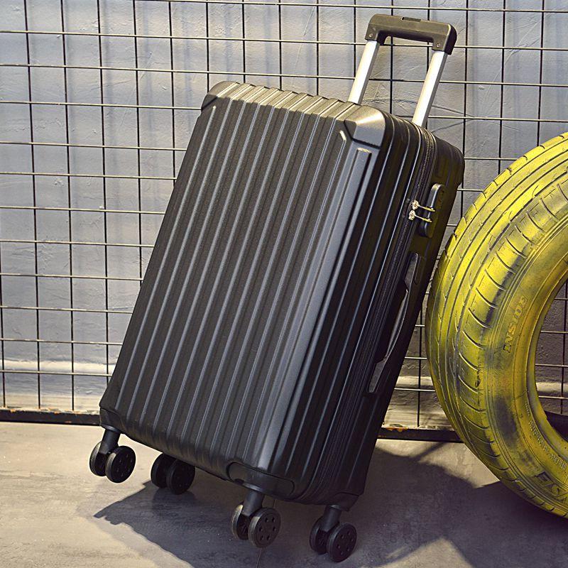 กระเป๋าเดินทางหนังทรงกลมขนาด 24 นิ้ว 26 28 Wanjin