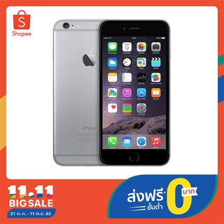 Apple iphone 6 Plus 64 GB เครื่องแท้ 100%  (รับประกัน 6 เดือน)(เงินคืน 800 โค้ด MBPRHY)